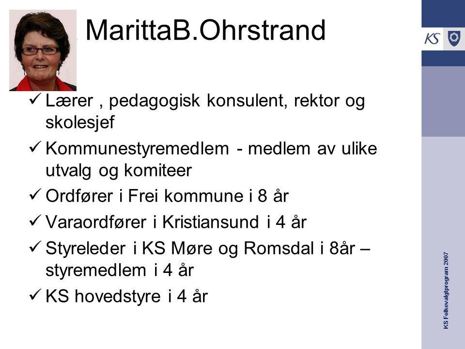 Marit MarittaB.Ohrstrand