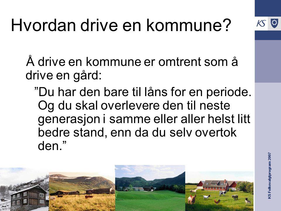 Hvordan drive en kommune