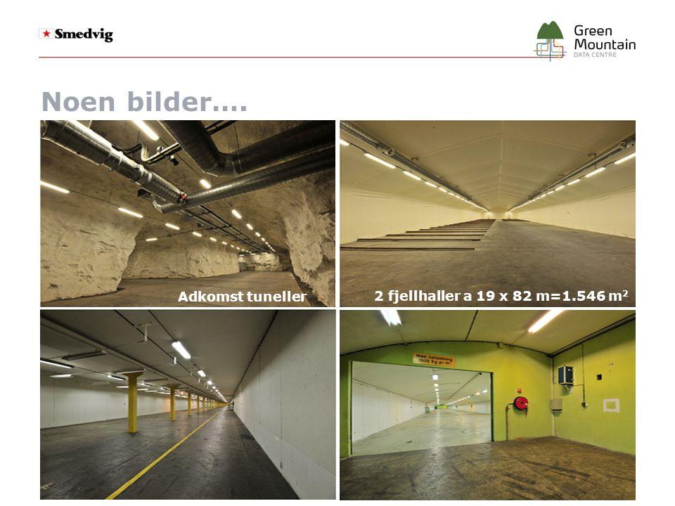 Noen bilder…. Adkomst tuneller 2 fjellhaller a 19 x 82 m=1.546 m2