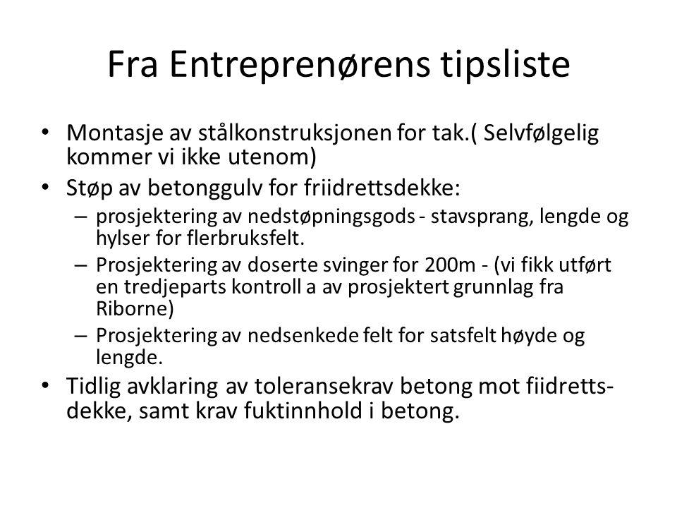 Fra Entreprenørens tipsliste