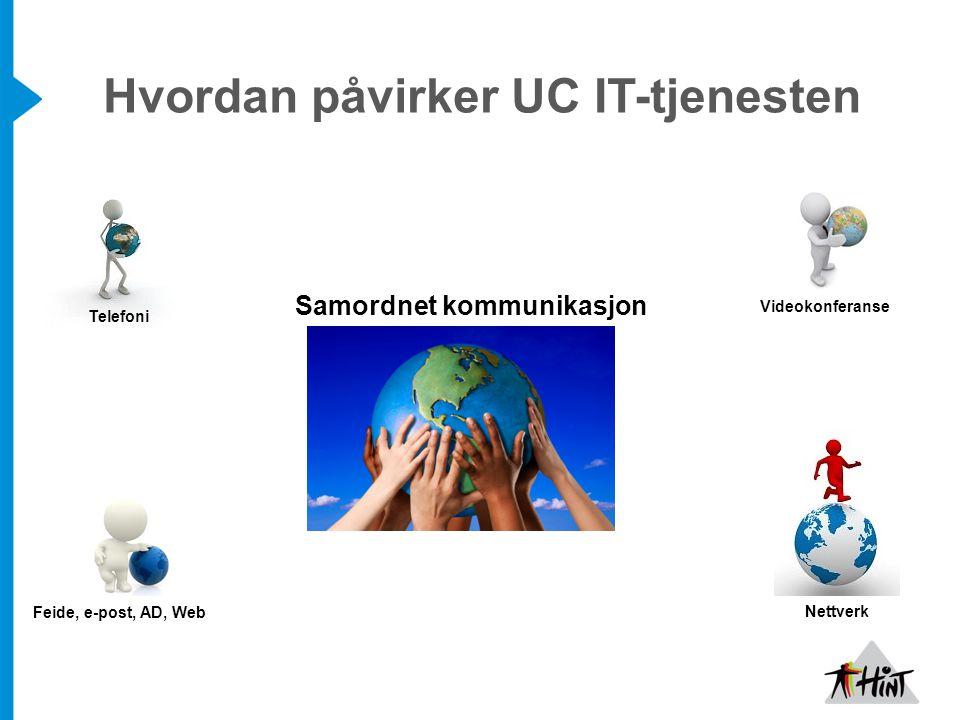 Hvordan påvirker UC IT-tjenesten