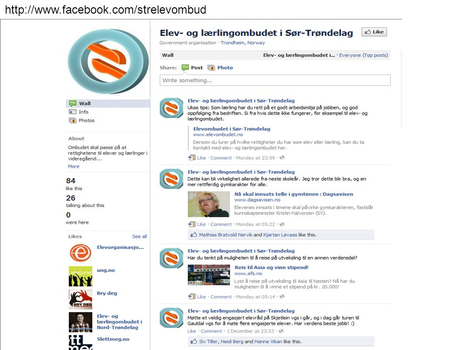 http://www.facebook.com/strelevombud