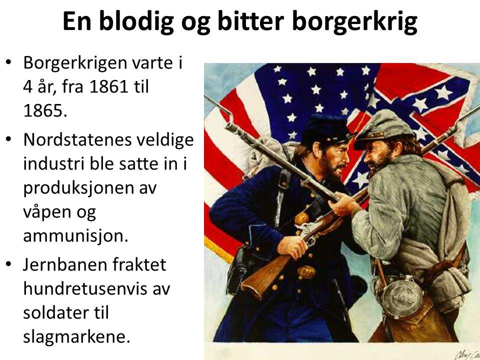 En blodig og bitter borgerkrig