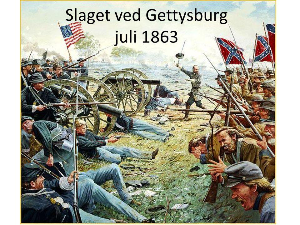 Slaget ved Gettysburg juli 1863