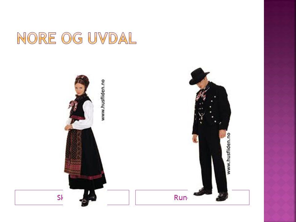 Nore og Uvdal Skjæling Rundtrøye
