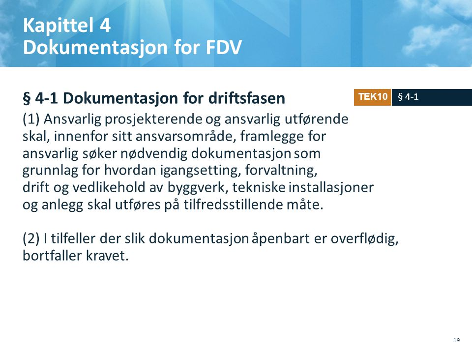 Kapittel 4 Dokumentasjon for FDV
