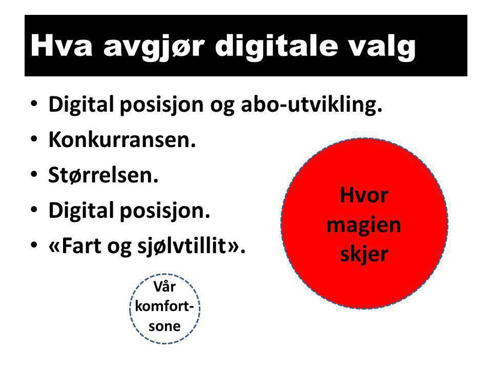 Hva avgjør digitale valg