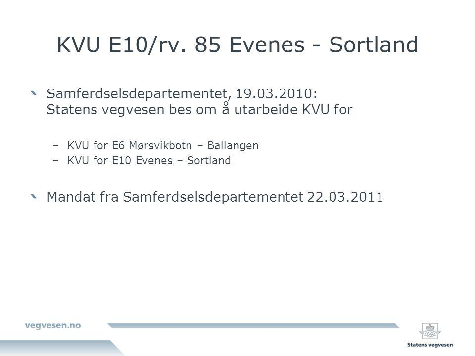 KVU E10/rv. 85 Evenes - Sortland