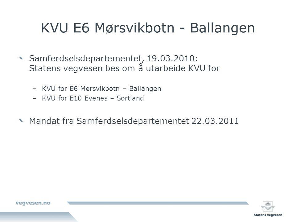 KVU E6 Mørsvikbotn - Ballangen