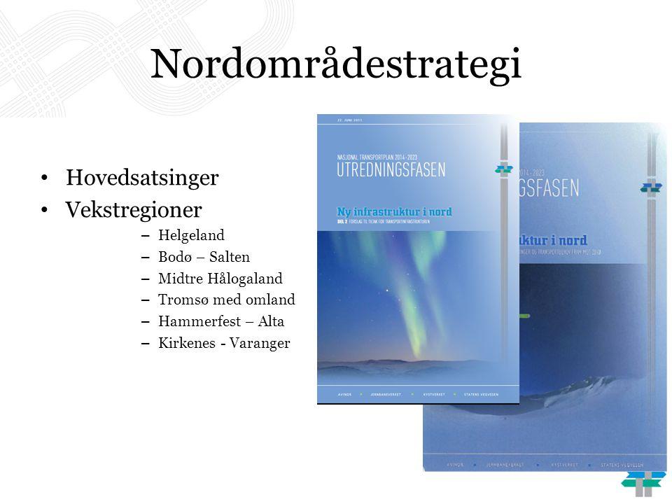 Nordområdestrategi Hovedsatsinger Vekstregioner Helgeland