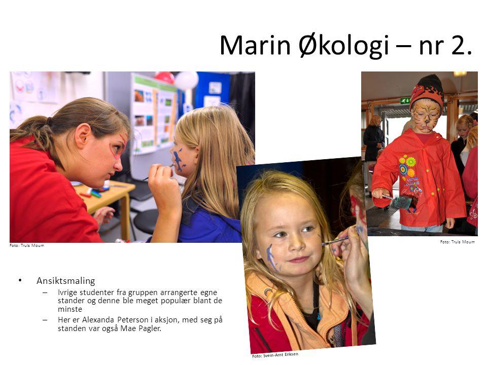 Marin Økologi – nr 2. Ansiktsmaling