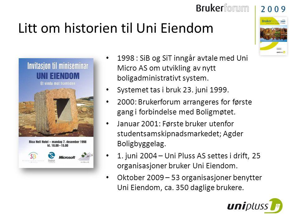 Litt om historien til Uni Eiendom