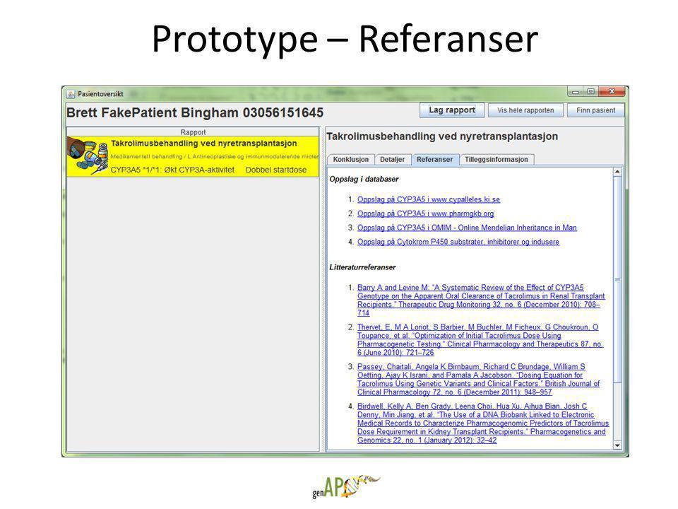 Prototype – Referanser