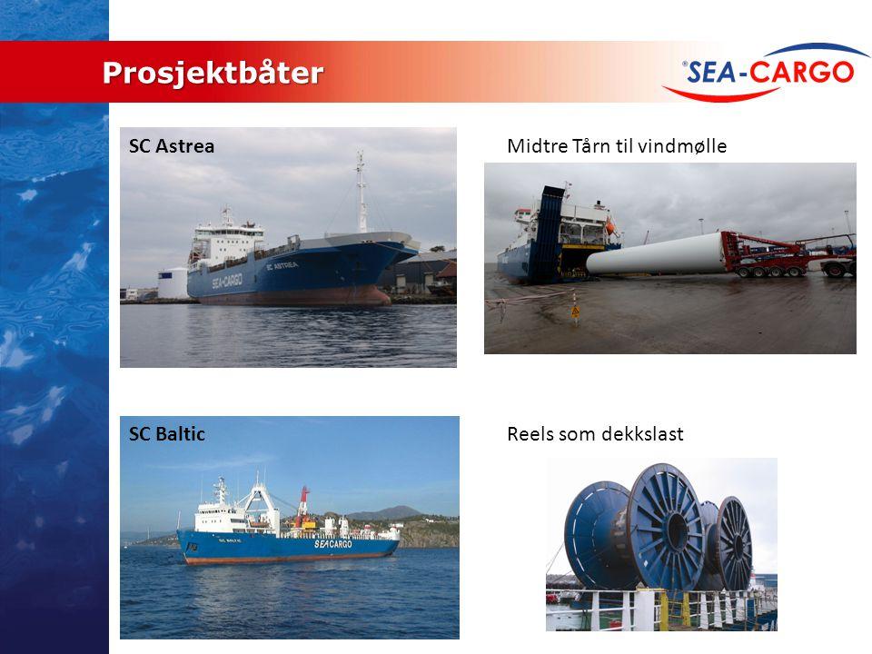 Prosjektbåter SC Astrea Midtre Tårn til vindmølle SC Baltic