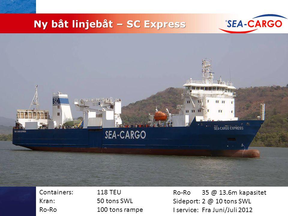 Ny båt linjebåt – SC Express