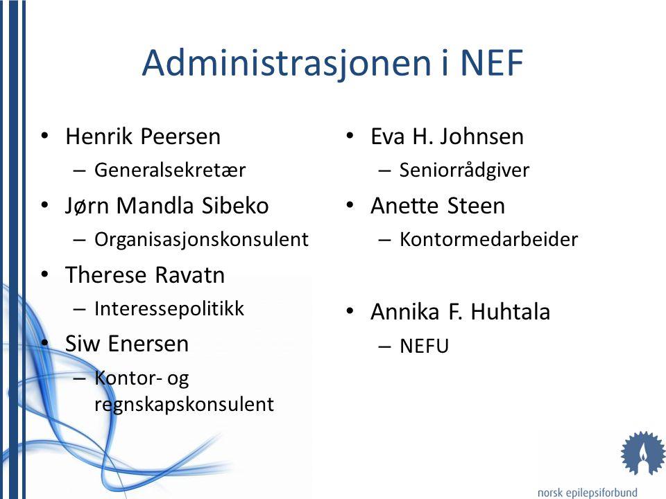 Administrasjonen i NEF