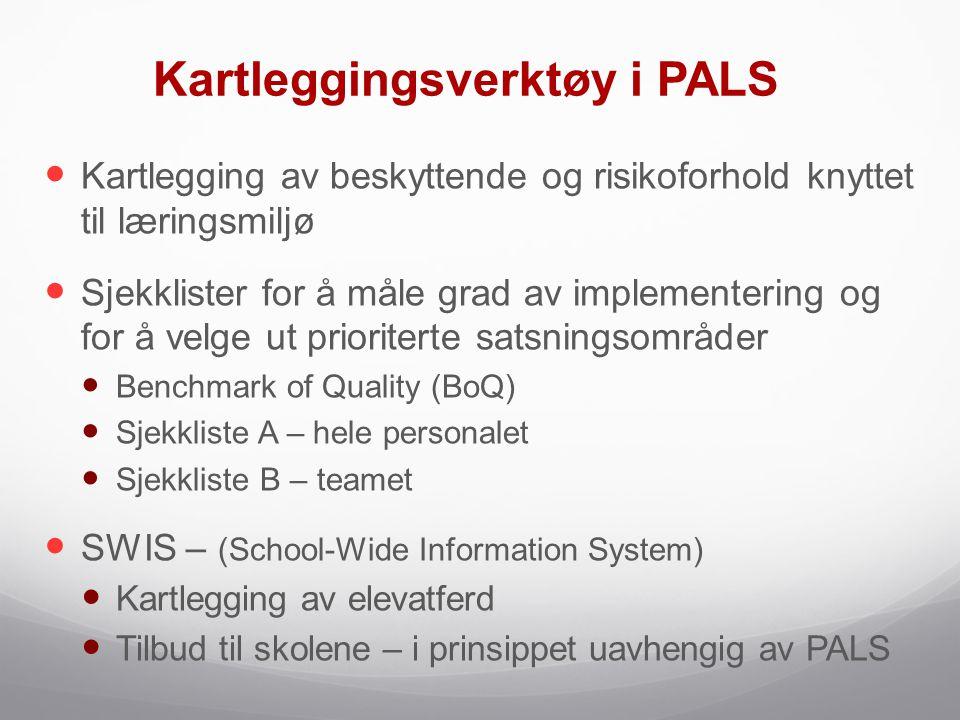 Kartleggingsverktøy i PALS