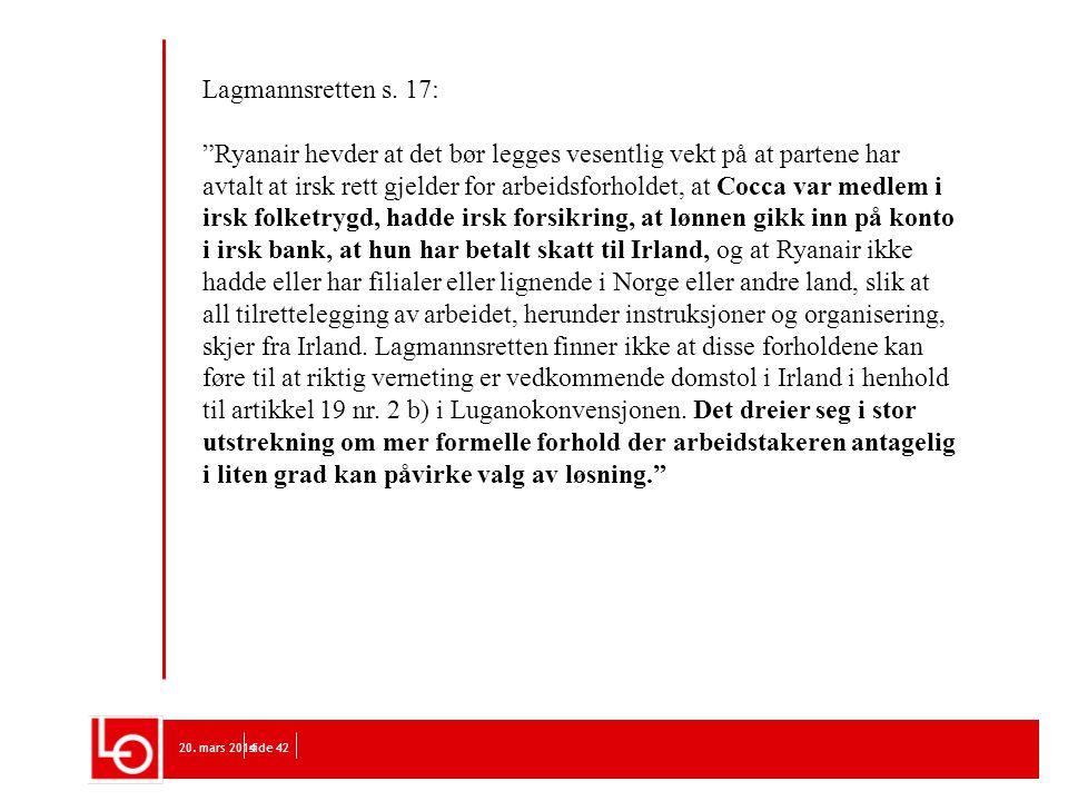 Lagmannsretten s. 17: