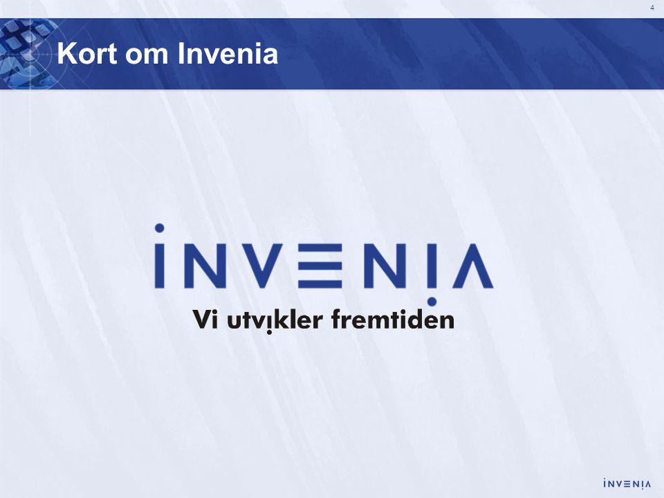 Kort om Invenia