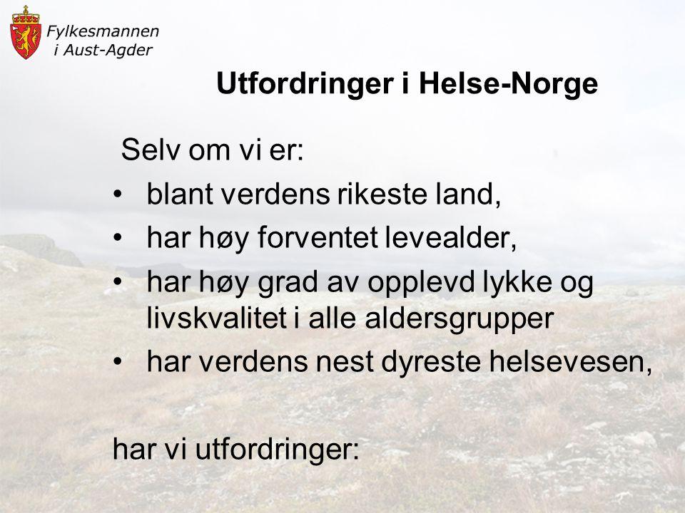 Utfordringer i Helse-Norge