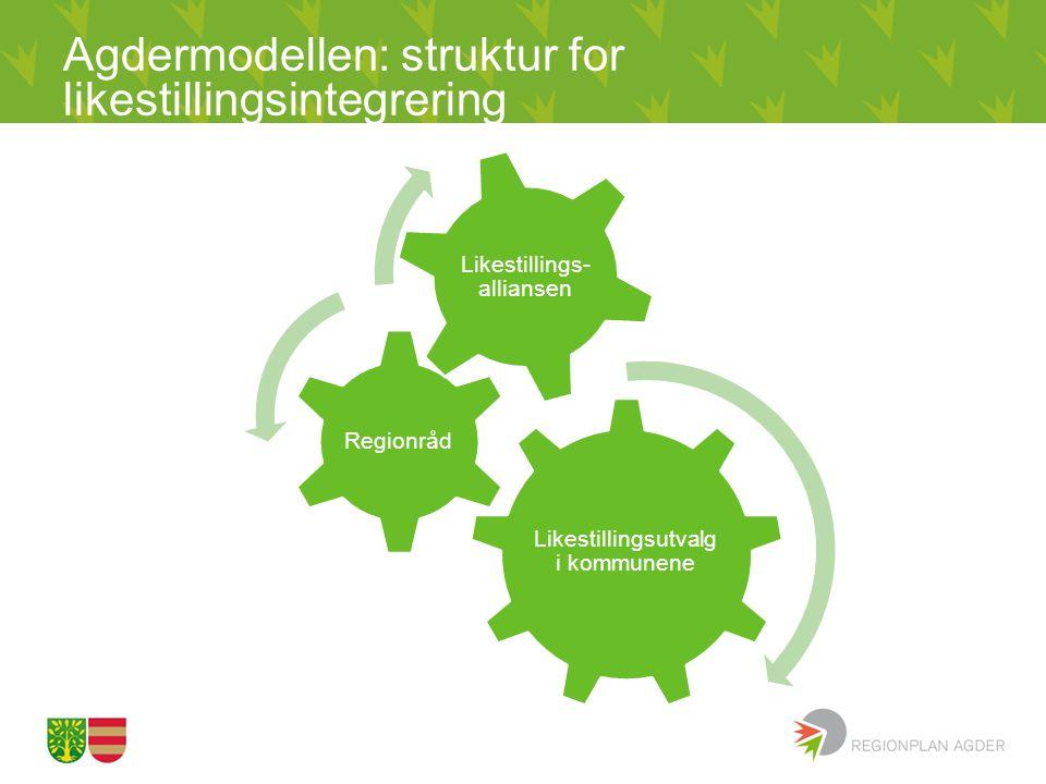 Agdermodellen: struktur for likestillingsintegrering