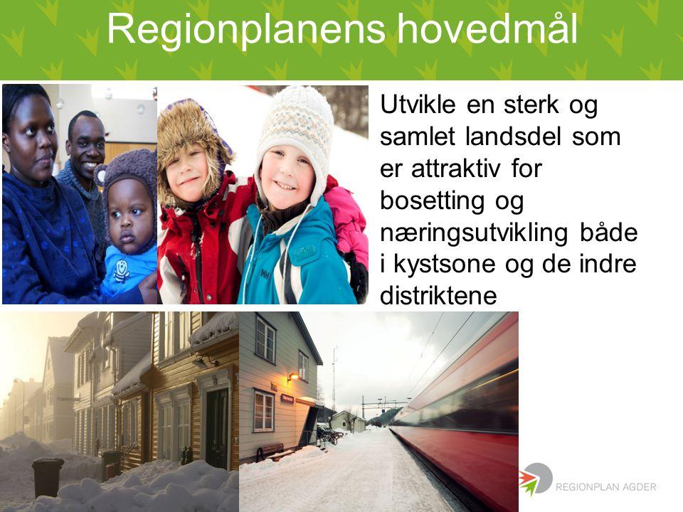 Regionplanens hovedmål