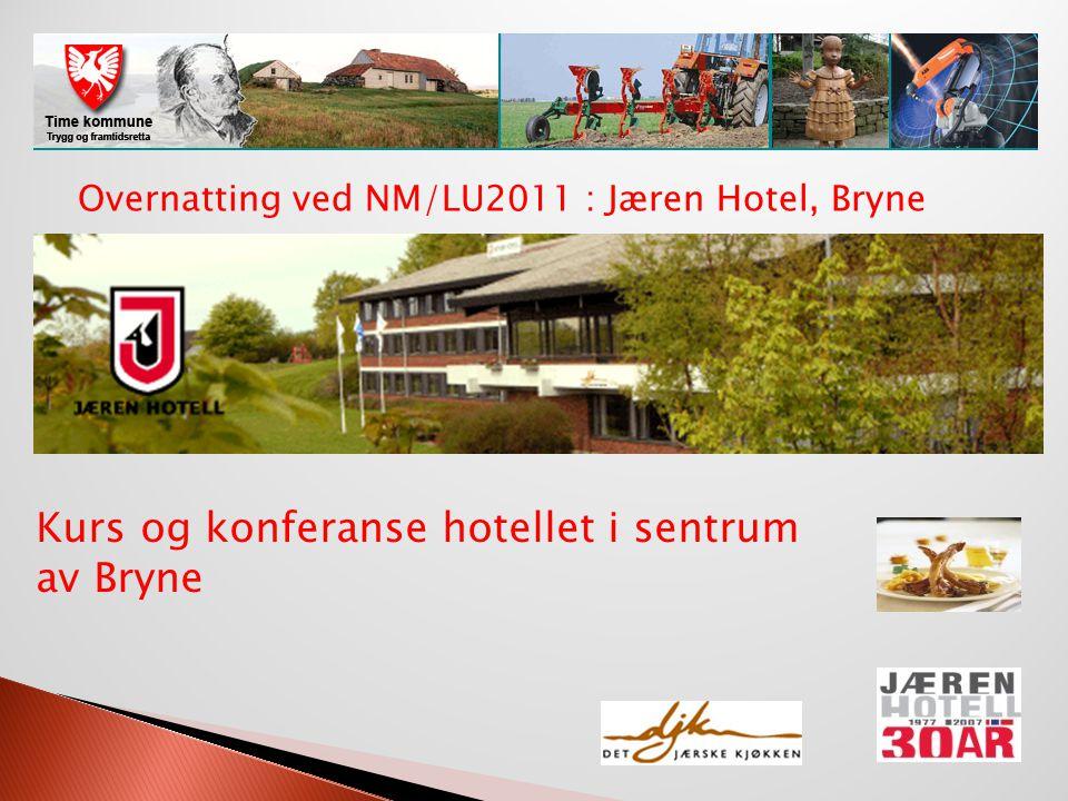 Kurs og konferanse hotellet i sentrum av Bryne