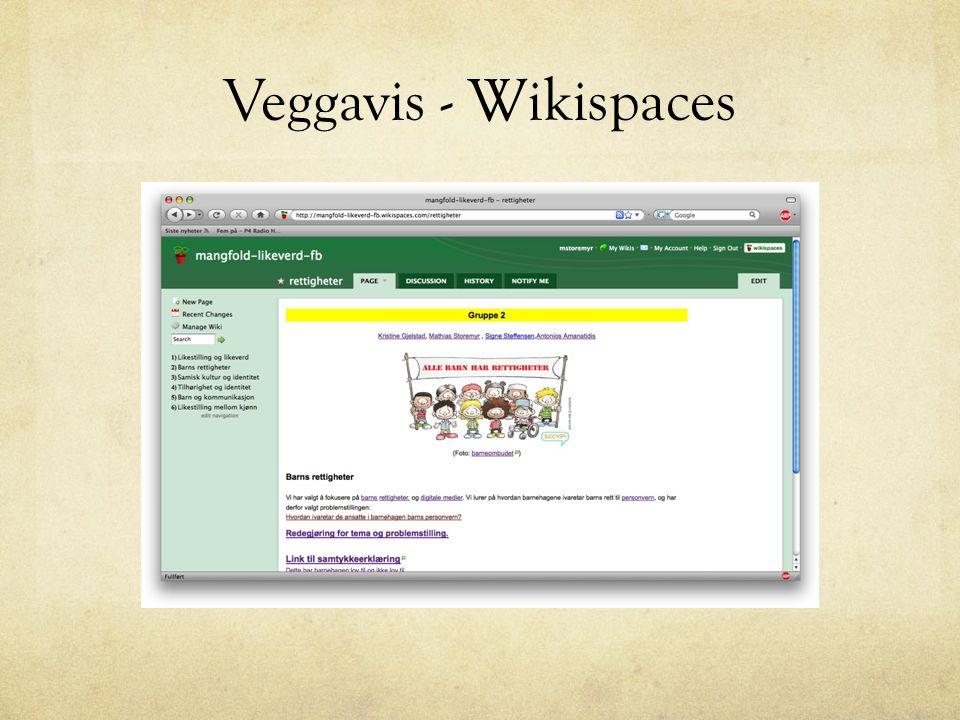 Veggavis - Wikispaces