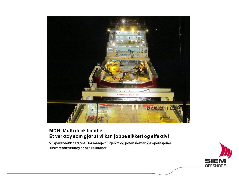 MDH: Multi deck handler