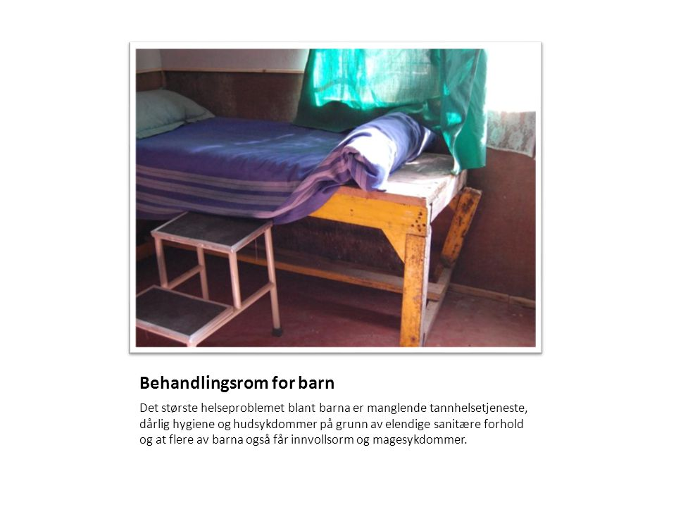 Behandlingsrom for barn