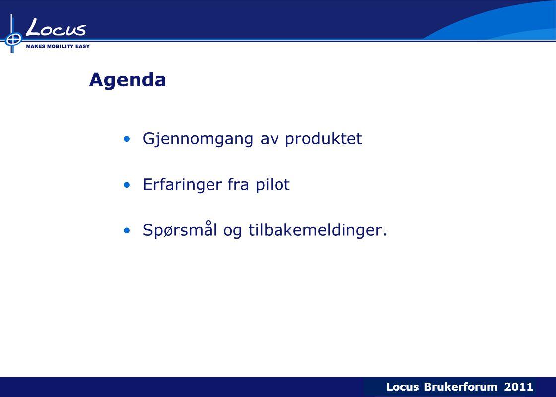 Agenda Gjennomgang av produktet Erfaringer fra pilot