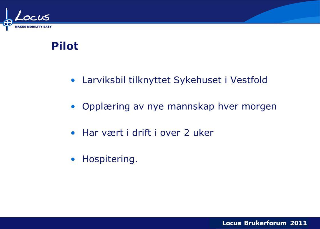 Pilot Larviksbil tilknyttet Sykehuset i Vestfold
