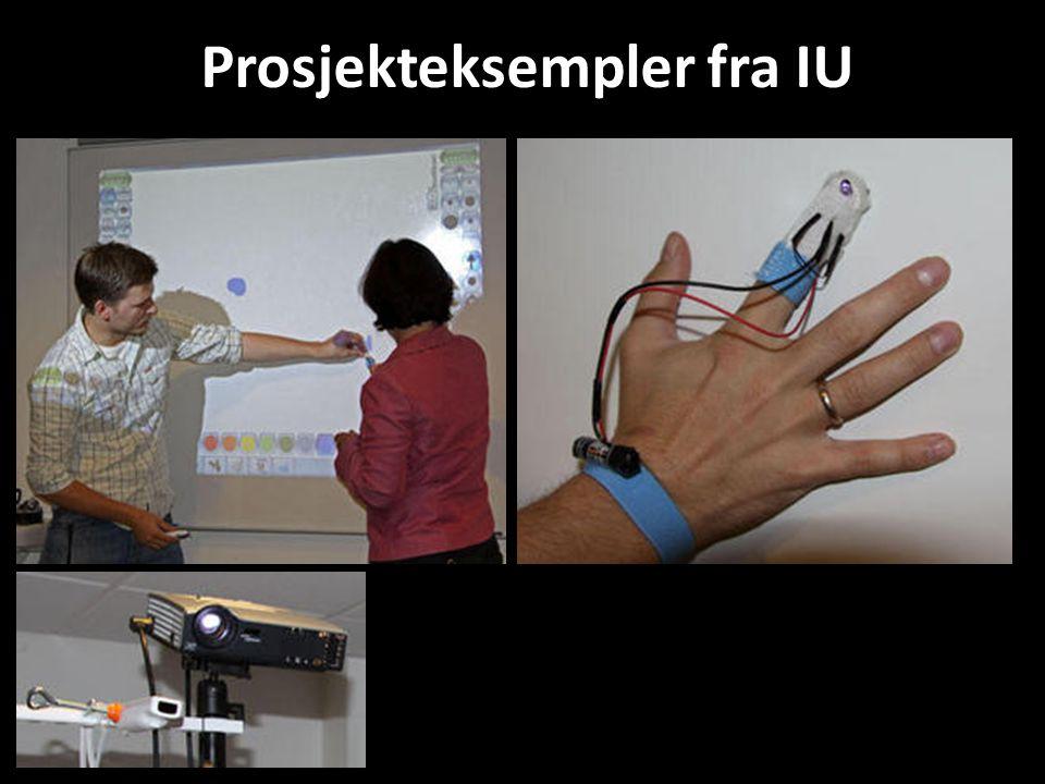 Prosjekteksempler fra IU