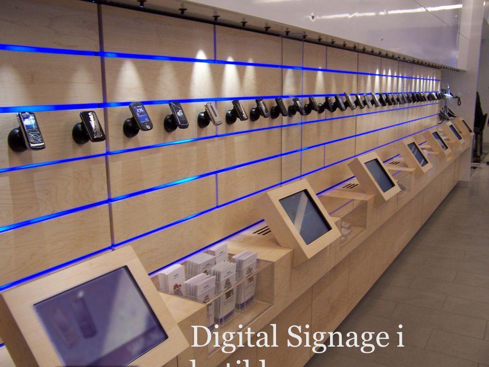 Digital Signage i butikk