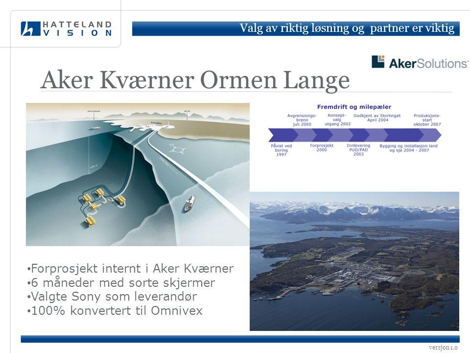 Aker Kværner Ormen Lange