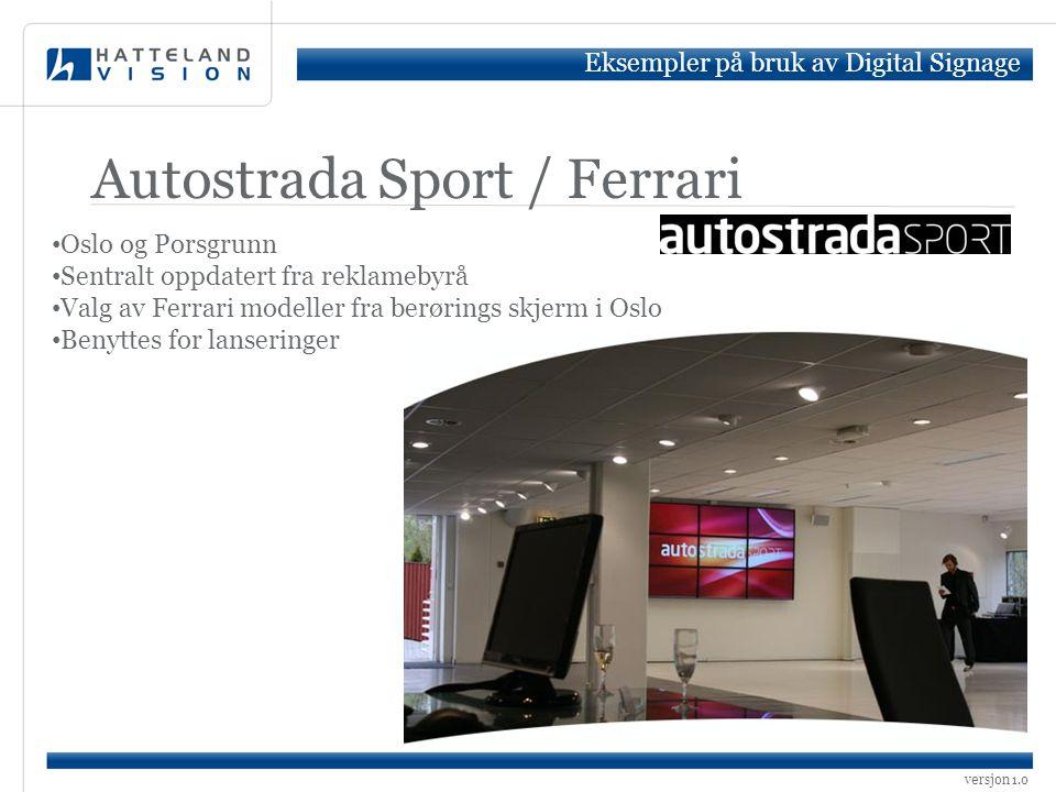 Autostrada Sport / Ferrari