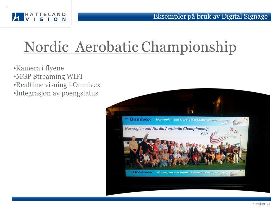 Nordic Aerobatic Championship