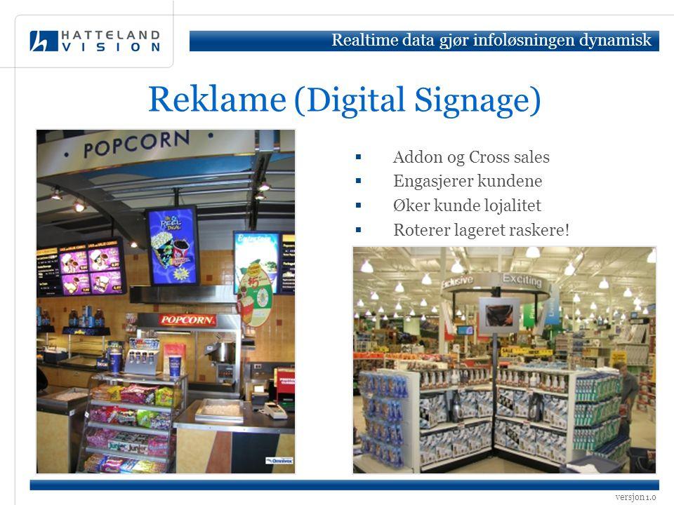 Reklame (Digital Signage)