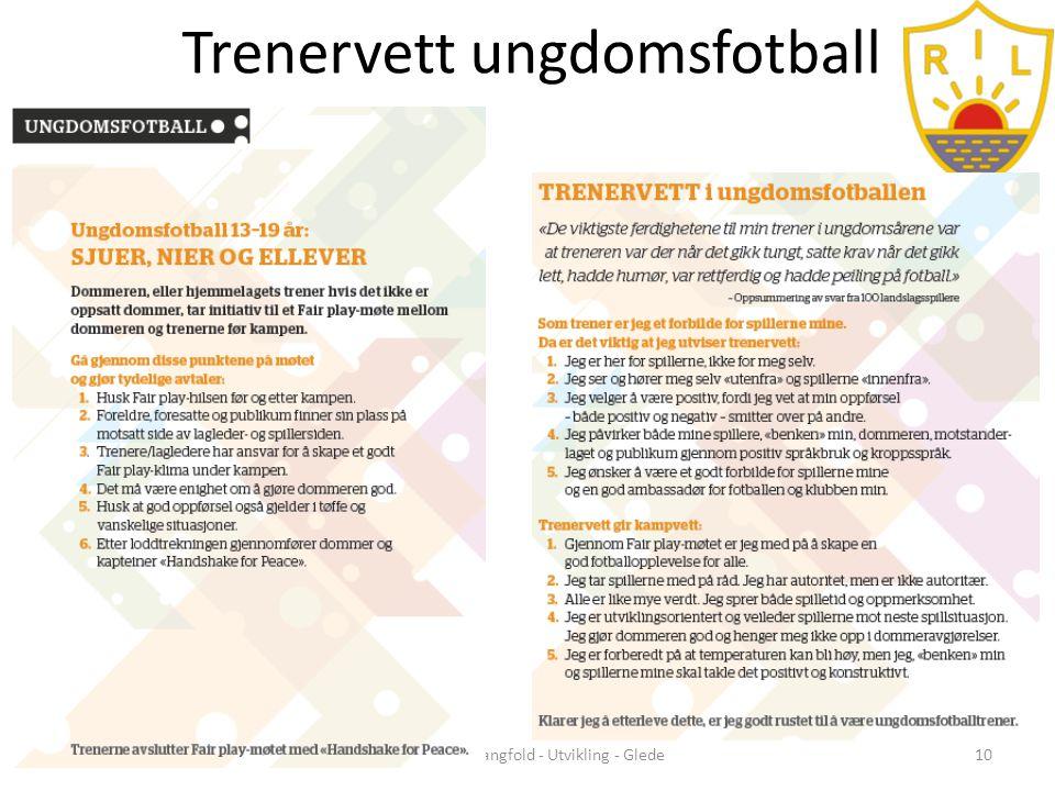 Trenervett ungdomsfotball