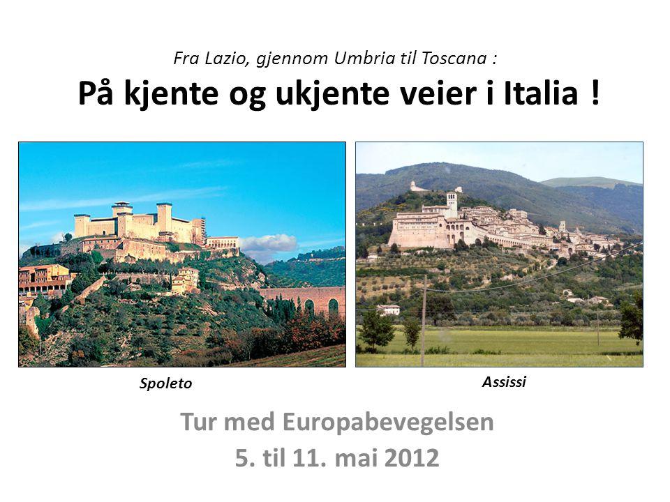 Tur med Europabevegelsen 5. til 11. mai 2012