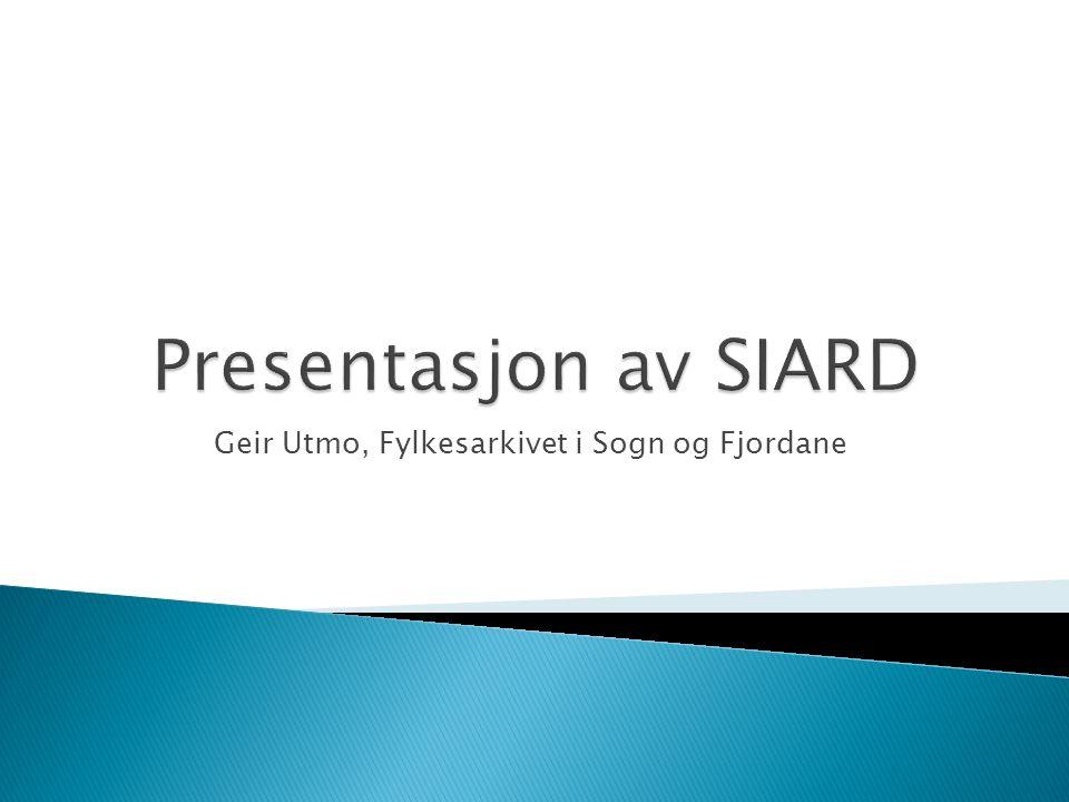 Geir Utmo, Fylkesarkivet i Sogn og Fjordane