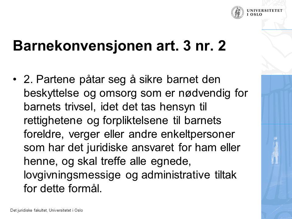 Barnekonvensjonen art. 3 nr. 2