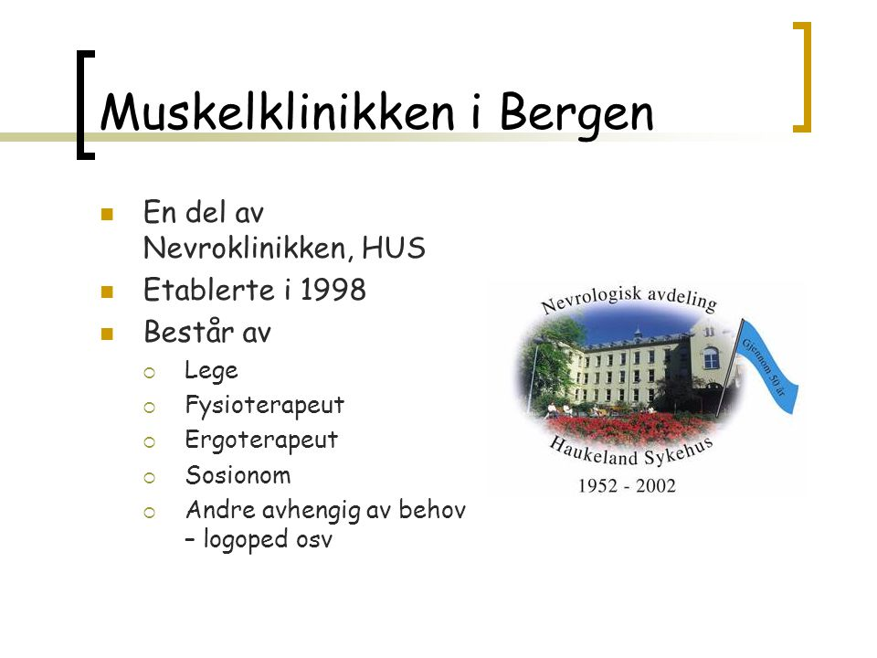 Muskelklinikken i Bergen