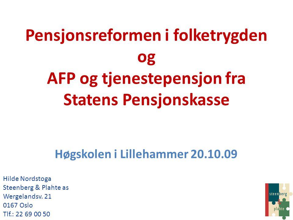 Høgskolen i Lillehammer 20.10.09