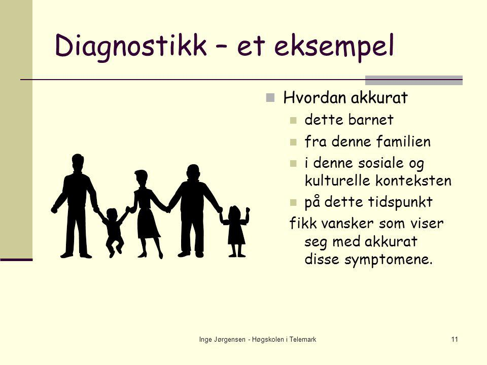 Diagnostikk – et eksempel