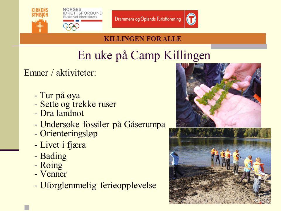 En uke på Camp Killingen