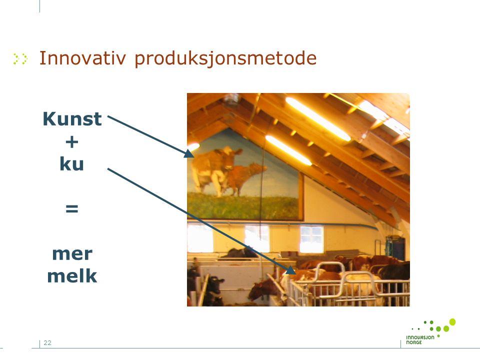 Innovativ produksjonsmetode