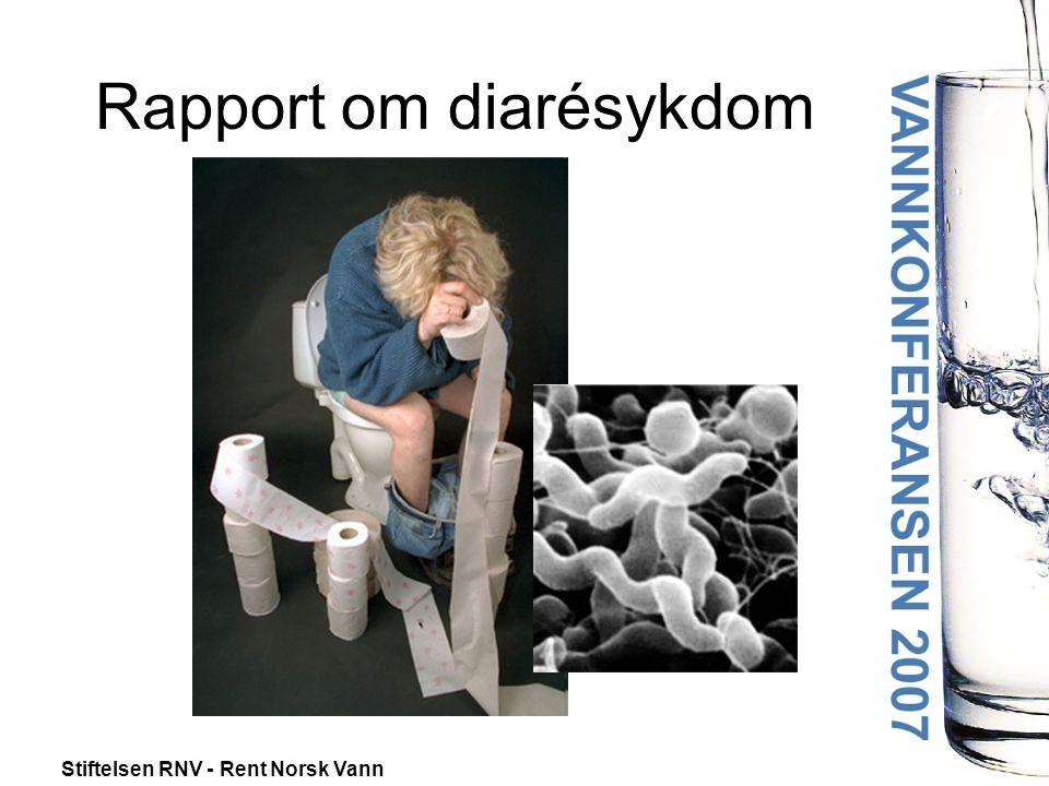 Rapport om diarésykdom
