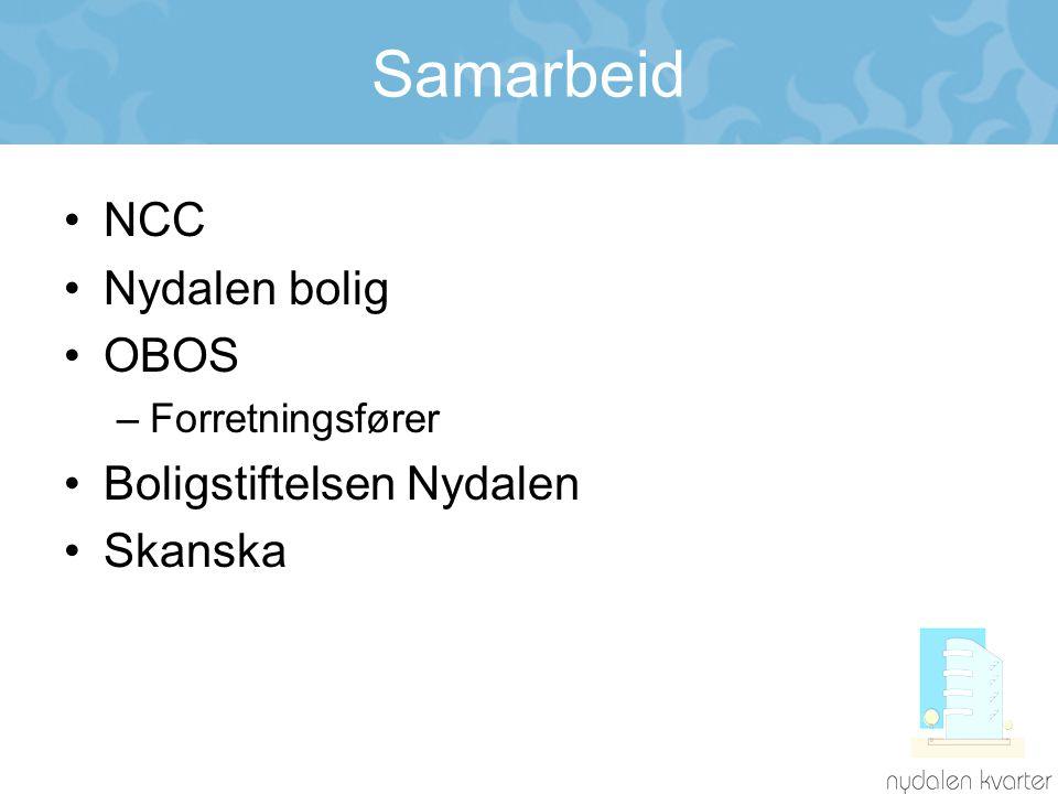 Samarbeid NCC Nydalen bolig OBOS Boligstiftelsen Nydalen Skanska