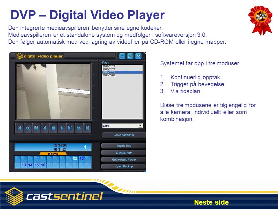 DVP – Digital Video Player